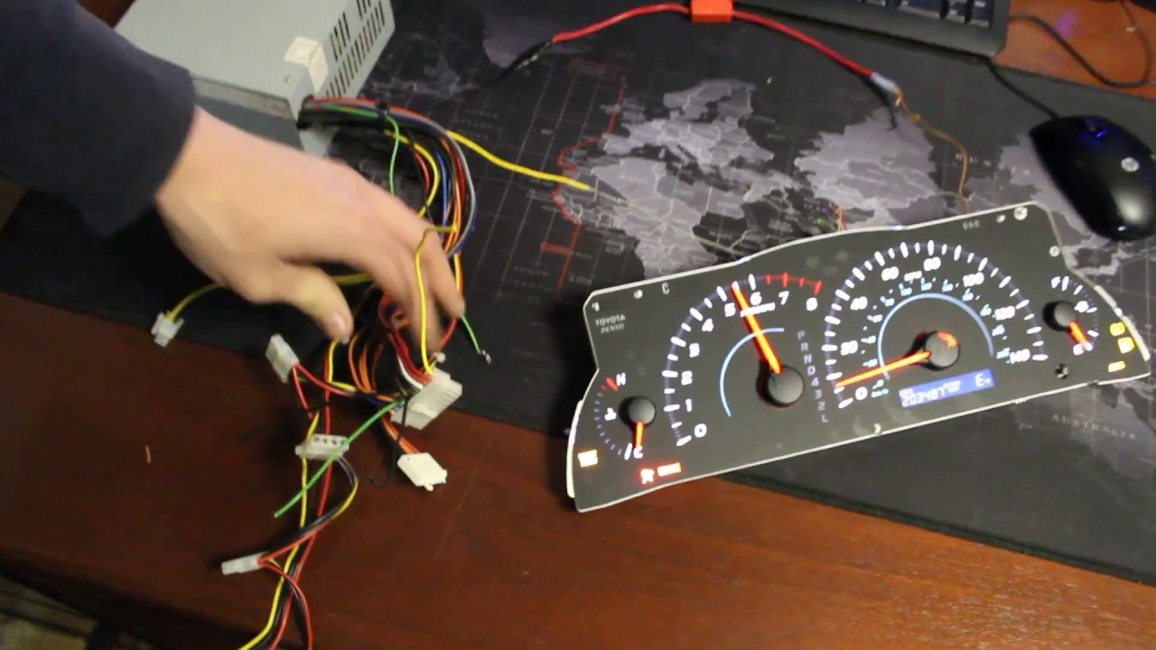 How To Light Up Your Cluster Speedometer For Mileage Bench