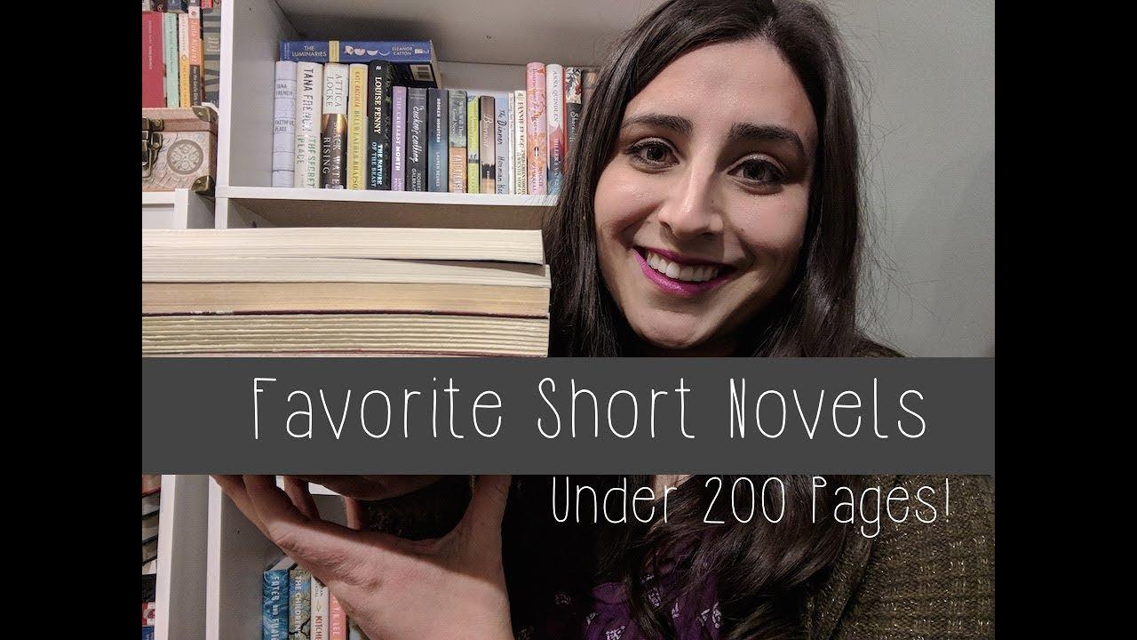 10 Favorite Novels Under 200 Pages Youtube