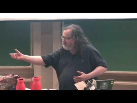 Richard Stallman, fundador do movimento Software Livre, faz palestra na Unicamp - Parte 1