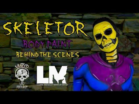 Lianne Moseley Paints Lloyd As Skeletor For Lloyd & JD Show