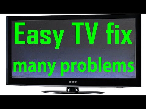 Flat screen TV repair no picture only sound
