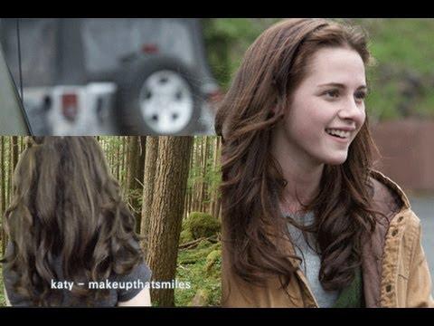 Bella Swan Inspired Hair Tutorial Twilight Using Curing Iron!