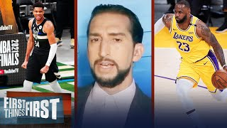 Nick Wright reveals his end-of-season NBA Playoff Pyramid | NBA | FIRST THINGS FIRST
