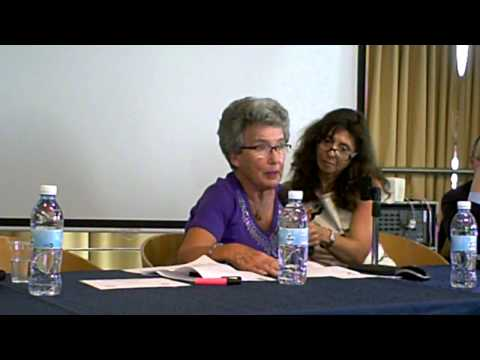 Agnes Hirschi speaks about her father Carl Lutz - Haifa University - May 1 2014