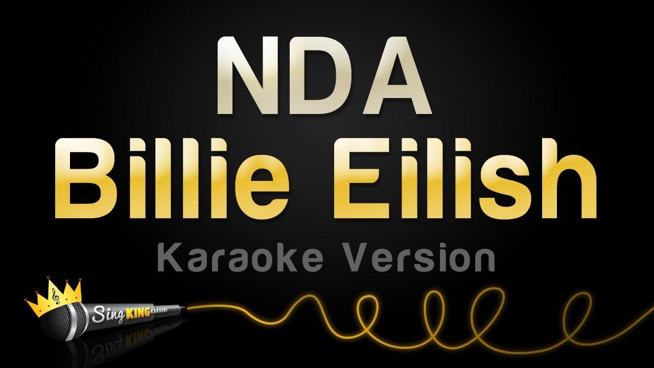 Billie Eilish - NDA (Karaoke Version)