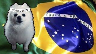 Baixar HINO NACIONAL do BRASIL em CACHORRÊS
