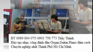 Bạc trắng tình đời - Đào tạo nhạc công Organ,Guitar,Piano chuyên nhất quận 6,7,8,9 TP Hồ Chí Minh.