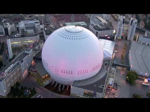 Fastighetsvideo flygbilder. Real Estate aerial video