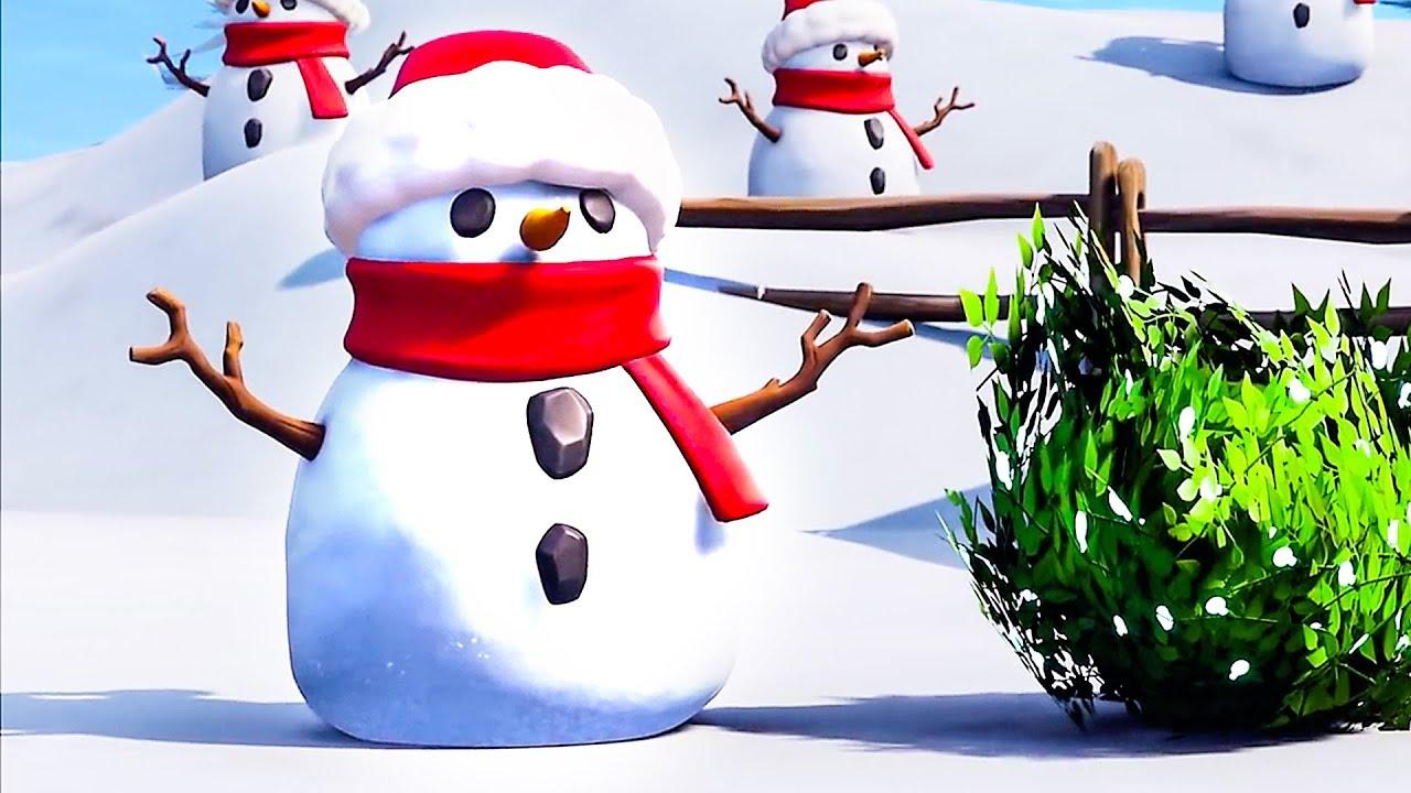 Fortnite Sneaky Snowman Trailer 2019 Youtube