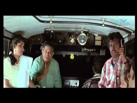 Dupe Dupe Dupe Movie - Mohanlal & innocent Dupe Bus Comedy Scene