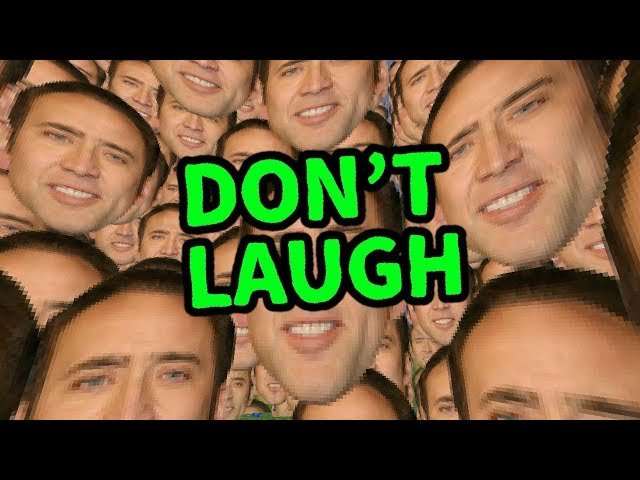 Laugh.. and Nicolas Cage will visit your Nightmares