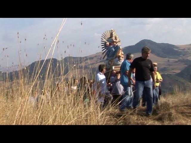 Gambatesa: MADONNA DELLE TRAGLIE -  DALLA CAPPELLA AL PAESE 2011