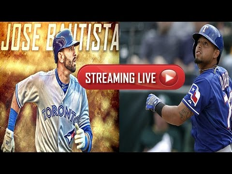 Toronto Blue Jays Vs Texas Rangers GAME 1 Live Stream