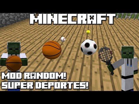 Minecraft MOD RANDOM! SUPER DEPORTES!