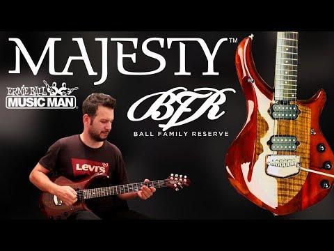 Music Man Majesty Walnut Claro LTD 30 / 39 John Petrucci Unboxing/ Under a Glass Moon Solo Cover