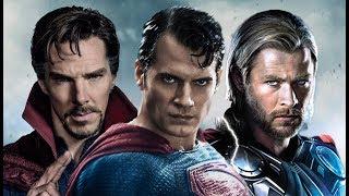 10 Самых Сильных Супергероев Показанных в Фильмах