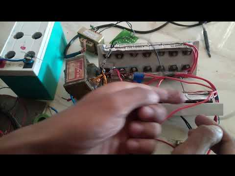 12v to 240v electric fishing inventor    1500w power inventor    28 transistor used