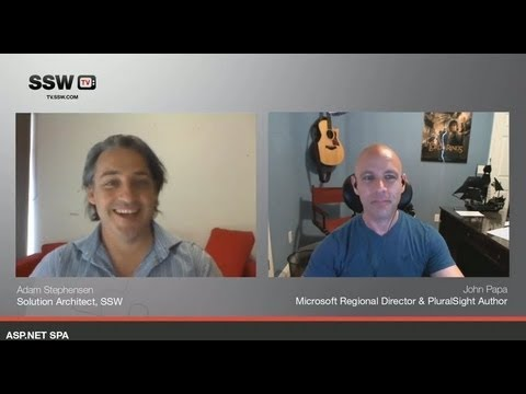 John Papa on Single Page Applications (SPA) - SSW TV Interview