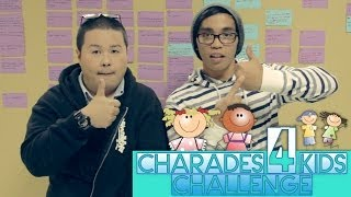 CHARADES FOR KIDS CHALLENGE!