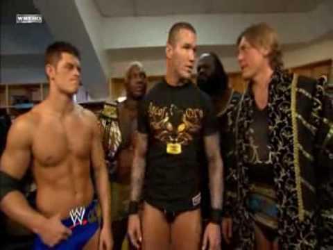 Team Orton Backstage at Survivor Series 2008.
