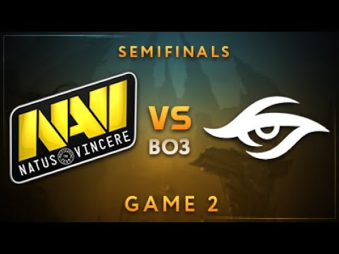 Natus Vincere vs Team Secret vod
