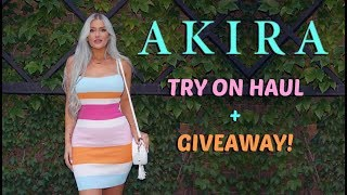AKIRA Try On HAUL //// GIVEAWAY!!!!
