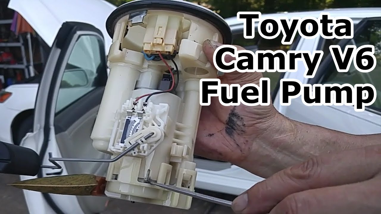 diy fuel pump replacement for toyota camry avalon es300 corolla solara with video axleaddict [ 1280 x 720 Pixel ]