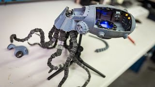 Show and Tell: 3D Printed Steampunk Octopod
