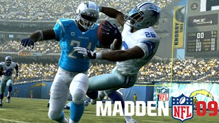 CRAZY MADDEN 09 GAMEPLAY!!! - THURSDAY THROWBACK