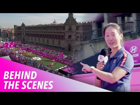 Behind the scenes at the World Championships in Mexico City