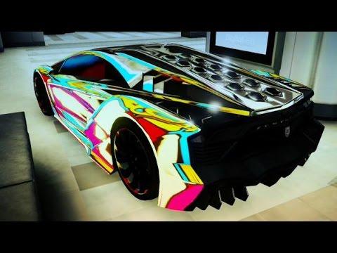 gta v rainbow crew colors 6 valk games youtube. Black Bedroom Furniture Sets. Home Design Ideas