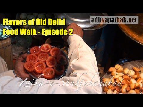 Download Street Food of Old Delhi - Food Walk Episode 2 (Kuliya Chaat, Fruit Sandwich)