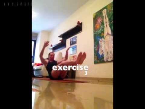 Amanda Dee Yoga high intensity interval training, HIIT. Body Gym workout and yoga