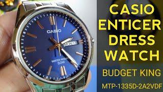 Casio Enticer MTP-1335D-2A2VDF - Budget Dress Watch