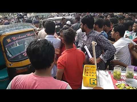 छात्रों पर डंडा चार्ज। किआ पोलिश ने। ##Patna Gandhi maidan. Bihar daroga paper leak