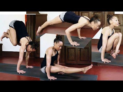 Ashtanga Yoga | Jumpback and Jump through with Laruga Glaser (Stu's special edit)