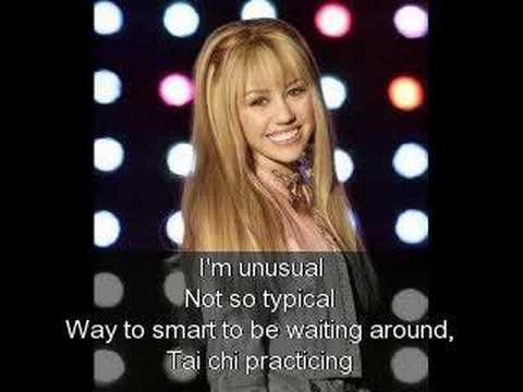 Hannah Montana - Rock Star (Official Instrumental)