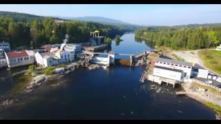 Hellefossen og Hokksund - Drammensvassdraget