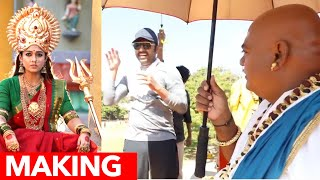 RJ Balaji Ultimate Comedy in Mookuthi amman Shooting Spot | Rofl Making Video | Nayanthara