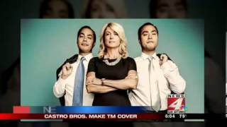 San Antonio Congressman Joaquin Castro and Mayor Julian Castro Seen as Leaders in Texas