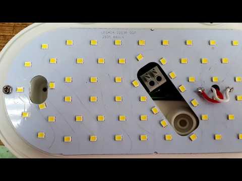 Ремонтируем светодиодный светильник Jazzway