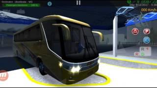Gamplay Heavy Bus simulator  usando el Skin de Autobuses Unidos