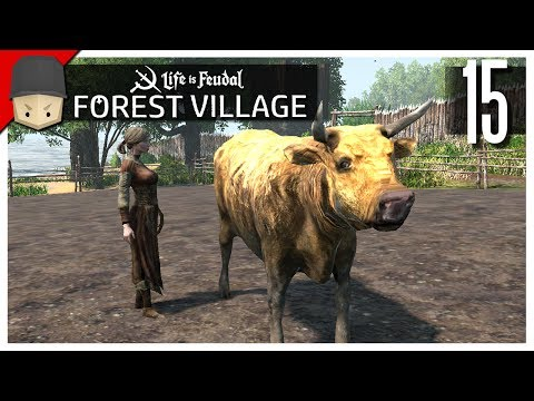 Life is Feudal Forest Village - Ep.15 : Cows & Pigs!