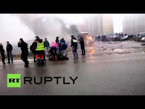 Russia: Two police officers killed during a heist on a bank security van