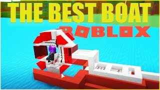 The Best Boat in Build a Boat for Treasure (Roblox)