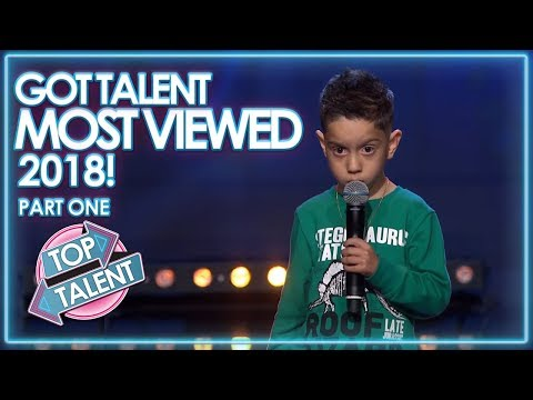 MOST VIEWED Got Talent Auditions 2018 – Part One!   Top Talent