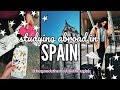 My First Day Studying Abroad VLOG || Traveling to Spain
