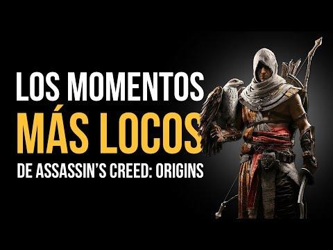 Los MOMENTOS MÁS LOCOS De ASSASSIN'S CREED: ORIGINS