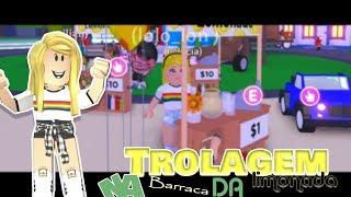 Roblox - TROLAGEM NA LIMONADA BARRACA (ADOPT ME )