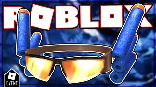[EVENT] HOW TO GET DART GLASSES IN NERF HUB | ROBLOX EVENT 2021